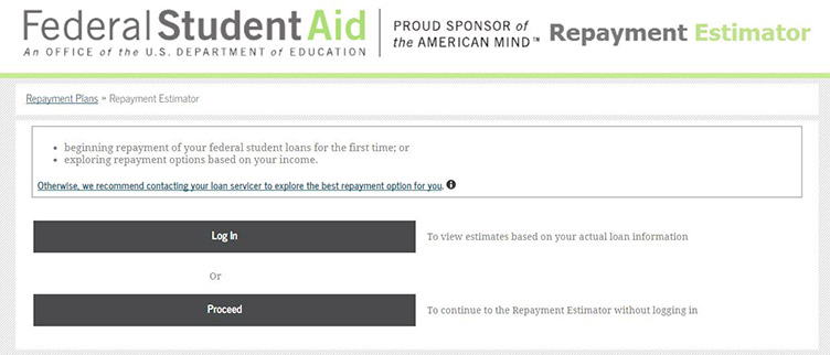 How to Use the Federal Student Aid Repayment Calculator Student