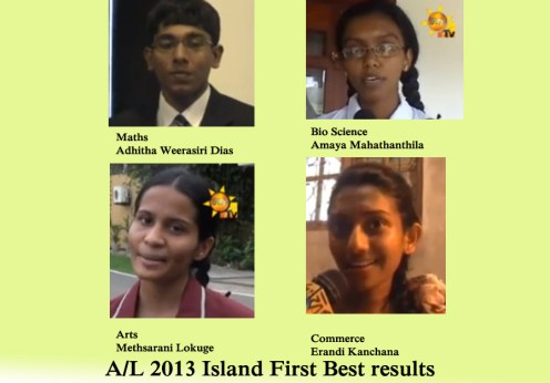 A/L 2013 Island First Best Results