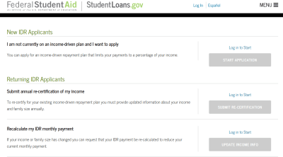 How to Recertify Your Income-Driven Repayment Plan Application | Student Loan Hero