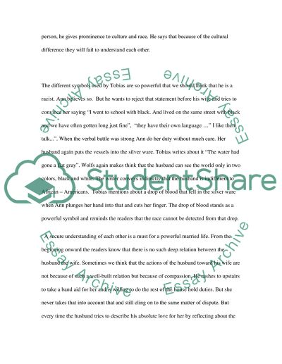 Say Yes by Tobias Wolff analyze Essay Example Topics and Well