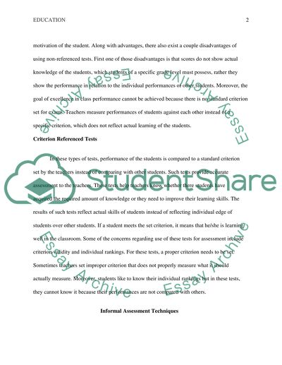 Formal and Informal Testing Research Paper Example Topics and Well
