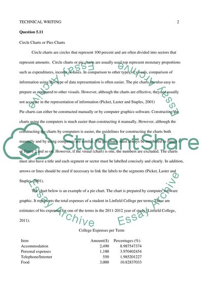 Technical Writing Essay Example Topics and Well Written Essays