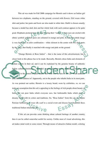 Visual Rhetoric Analysis Essay Example Topics and Well Written
