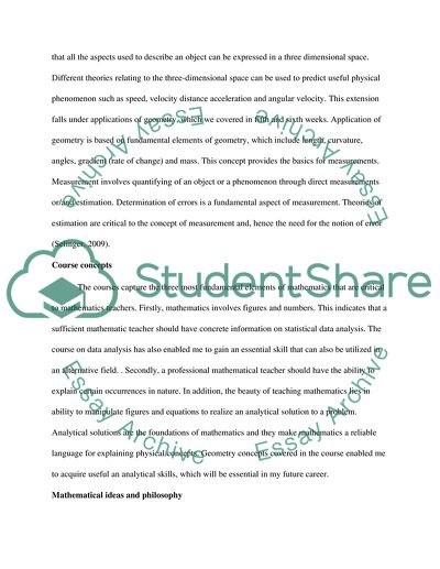 Math 157 course Essay Example Topics and Well Written Essays - 750