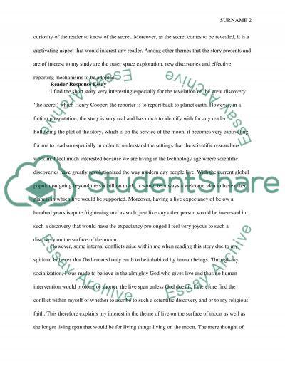 reader response essay close reading reading response essay example - response essay