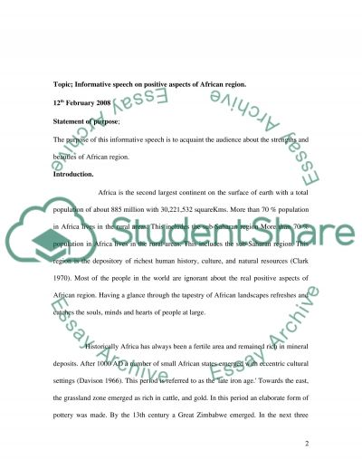 informative speech essays informative essay topic essay examples of - informative speech