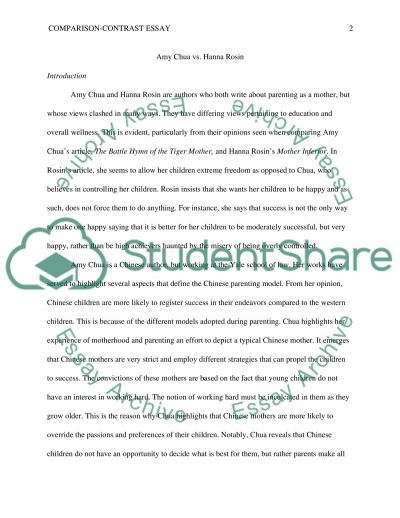 Comparison-Contrast essay Example Topics and Well Written Essays - how to make a compare and contrast essay