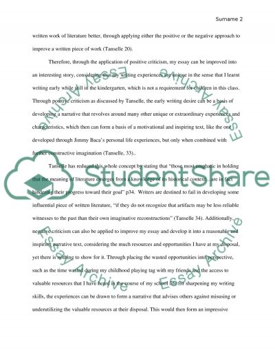 literacy narrative essay example the norton field guide to writing