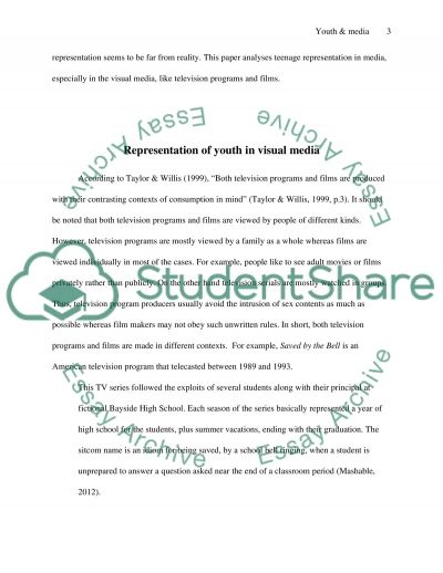 The Representation of Youth Through the Media Essay - what are the different kinds of essay