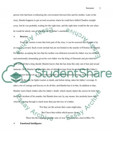 Hamlet\u0027s Character Strengths and Weaknesses Essay