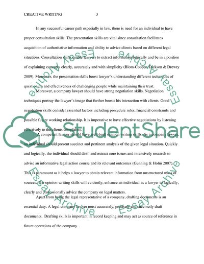 An analysis of skills an knowledge required to undertake degree Essay