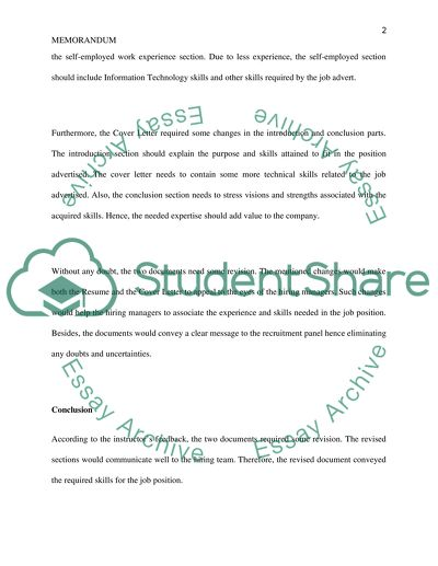 Review Assignment Resume  Cover Letter Essay Example Topics and
