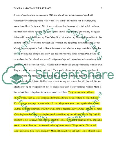 Family Biography Essay Example Topics and Well Written Essays