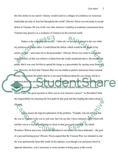 Essay Example Topics and Well Written Essays - 750 words - 53