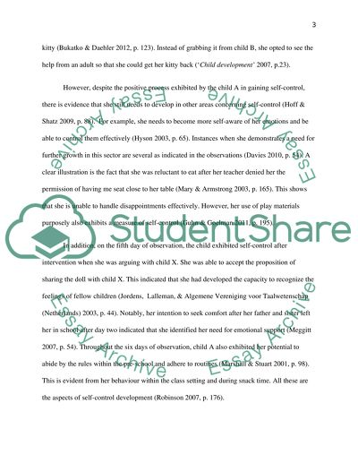 Introduction to Child Development Essay Example Topics and Well