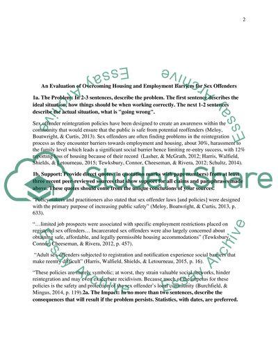 Dissertation Problem Statement Template Assignment