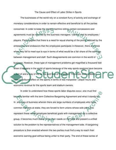 Cause/Effect Essay Example Topics and Well Written Essays - 1000 words