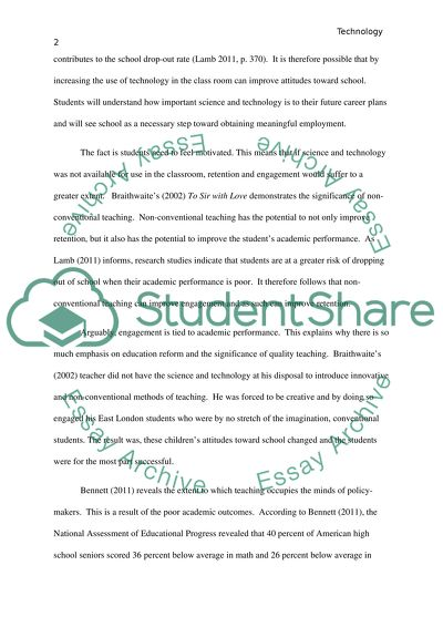 Technology and educationWhat if we didn\u0027t depend on technology in