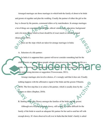 Informative Speech-Marriage customs Essay Example Topics and Well