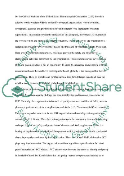 Write a summary Essay Example Topics and Well Written Essays - 750