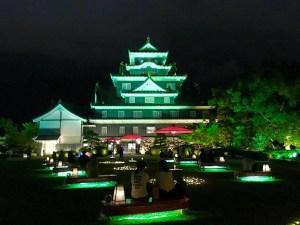 夏の思い出 岡山城
