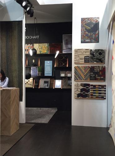 Stand Toulemonde Bochart Milan Salon du meuble 2017