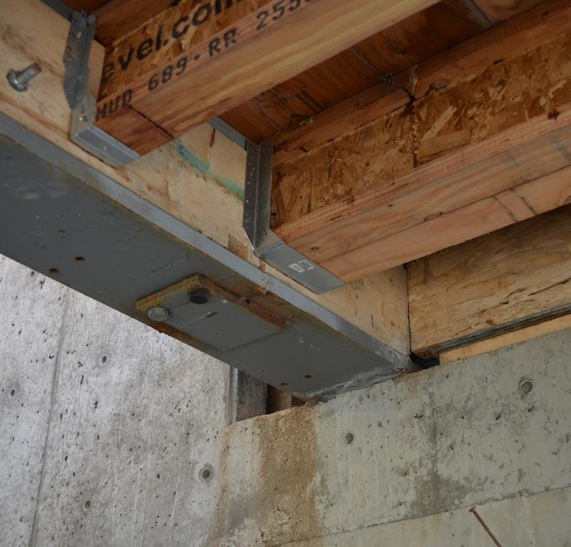 Steel Beam Flush Ceiling Centralrootscom