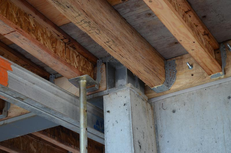 Structure Steel To Concr Home Building In Vancouver