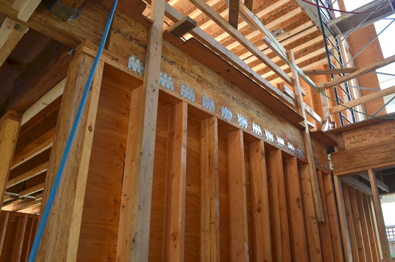 Wall Frames Vancouver Case Study – Dunbar House 2 « Home Building In Vancouver