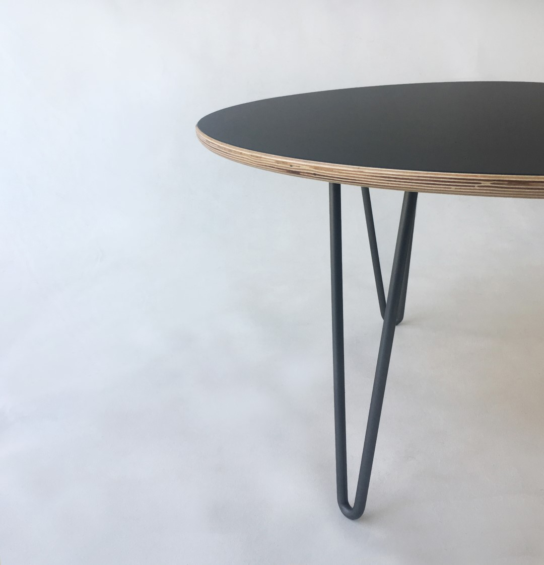 Mid Century Black Coffee Table Round Nesting Coffee Table Black Round Table Ideas