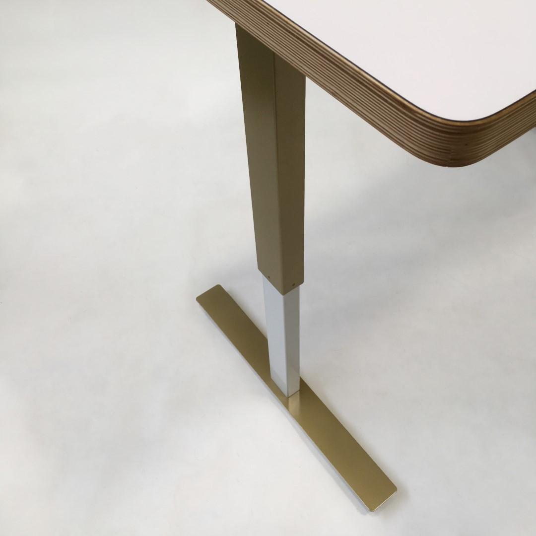 custom standing desk kidney shaped mid. The Golden Taylor \u2013 Modern Adjustable Standing Desk Custom Kidney Shaped Mid O