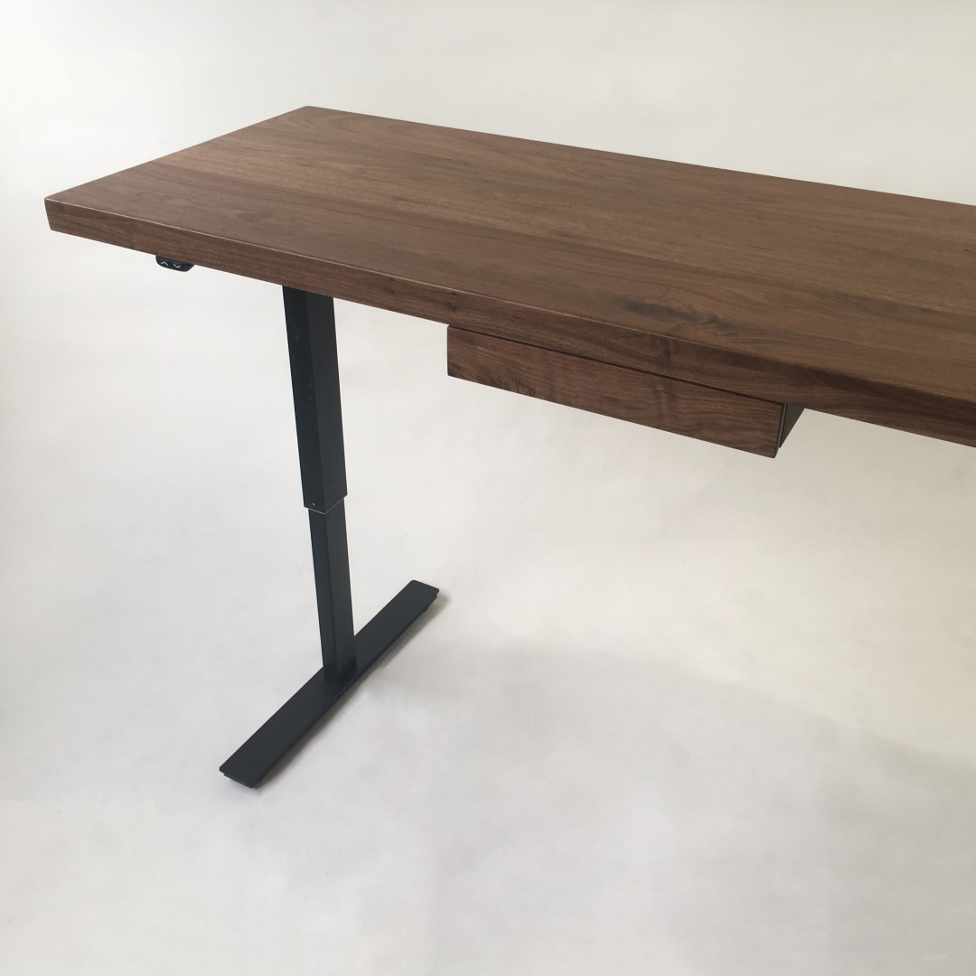 custom standing desk kidney shaped mid. The Taylor II \u2013 Modern Adjustable Standing Desk Custom Kidney Shaped Mid U