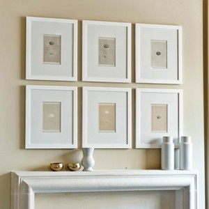 Quick and Easy Way to Hang Frames