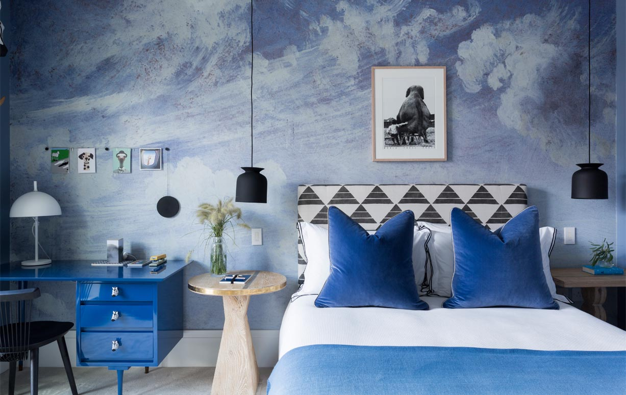 Cloud Wallpaper For Bedroom Cheyne Terrace Chelsea Studio Ashby