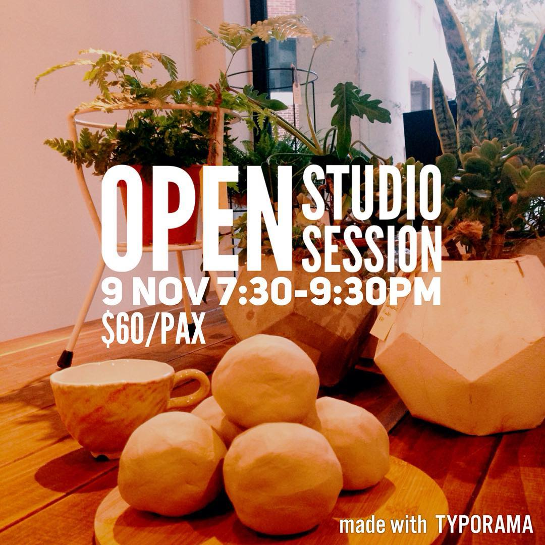 Hello! If you have been to one of our workshops before and would like to come back again to make new vessels, we have an open session for you on 9 Nov!:) Check out more details at: https://studioasobi.com/beginning/clay-workshops/  #clay #pottery #ceramic #workshop #sgworkshops #singapore #studioasobi