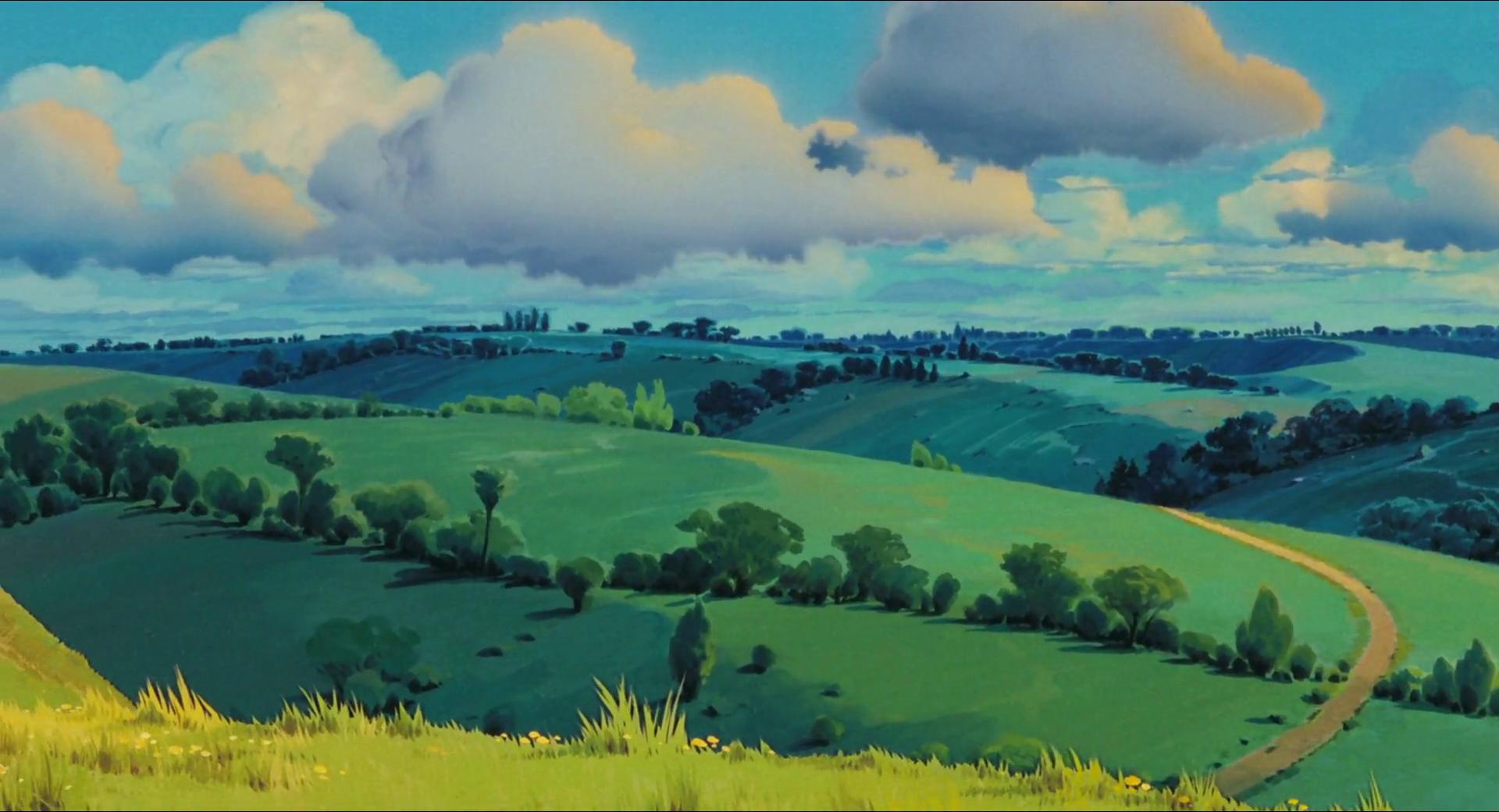 High Res Anime Wallpaper Wallpaper Wednesday More Ghibli Wallpapers For You