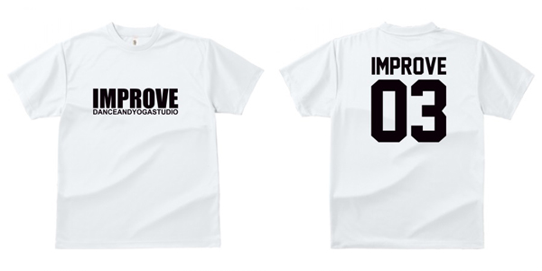 STUDIO-IMPROVE-T-SHIRTS-ホワイト