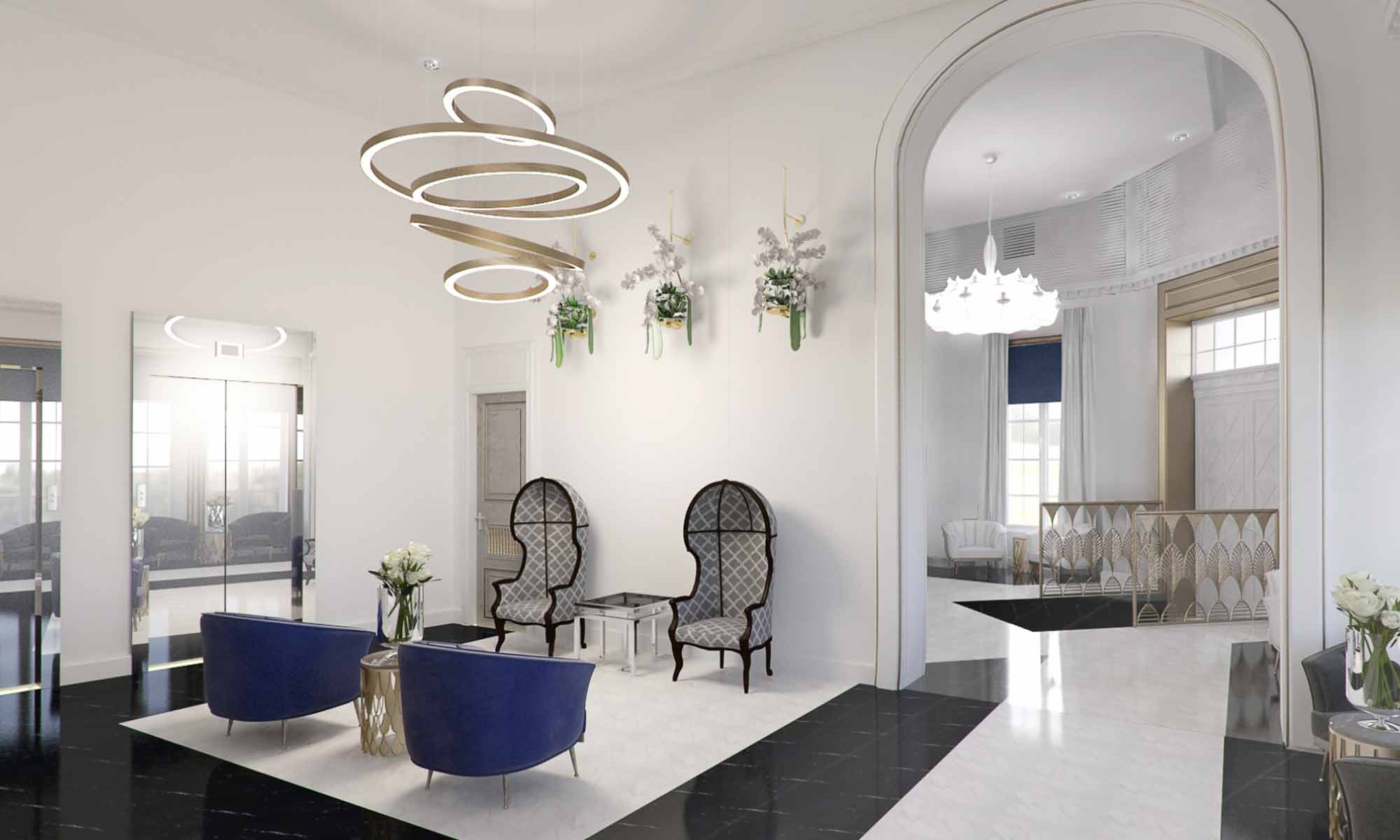 Design Interieur Hotel Hotel 5 Stars Bucharest Art Deco Interior Design Studio Insign