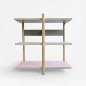 F02 basic front Stack shelf 2016 studio lorier modular shelf changable furniture