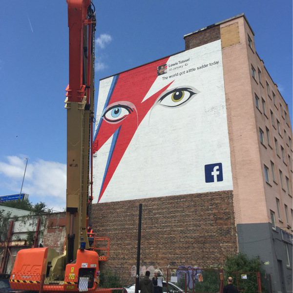 Bowie Mural – In The Press.