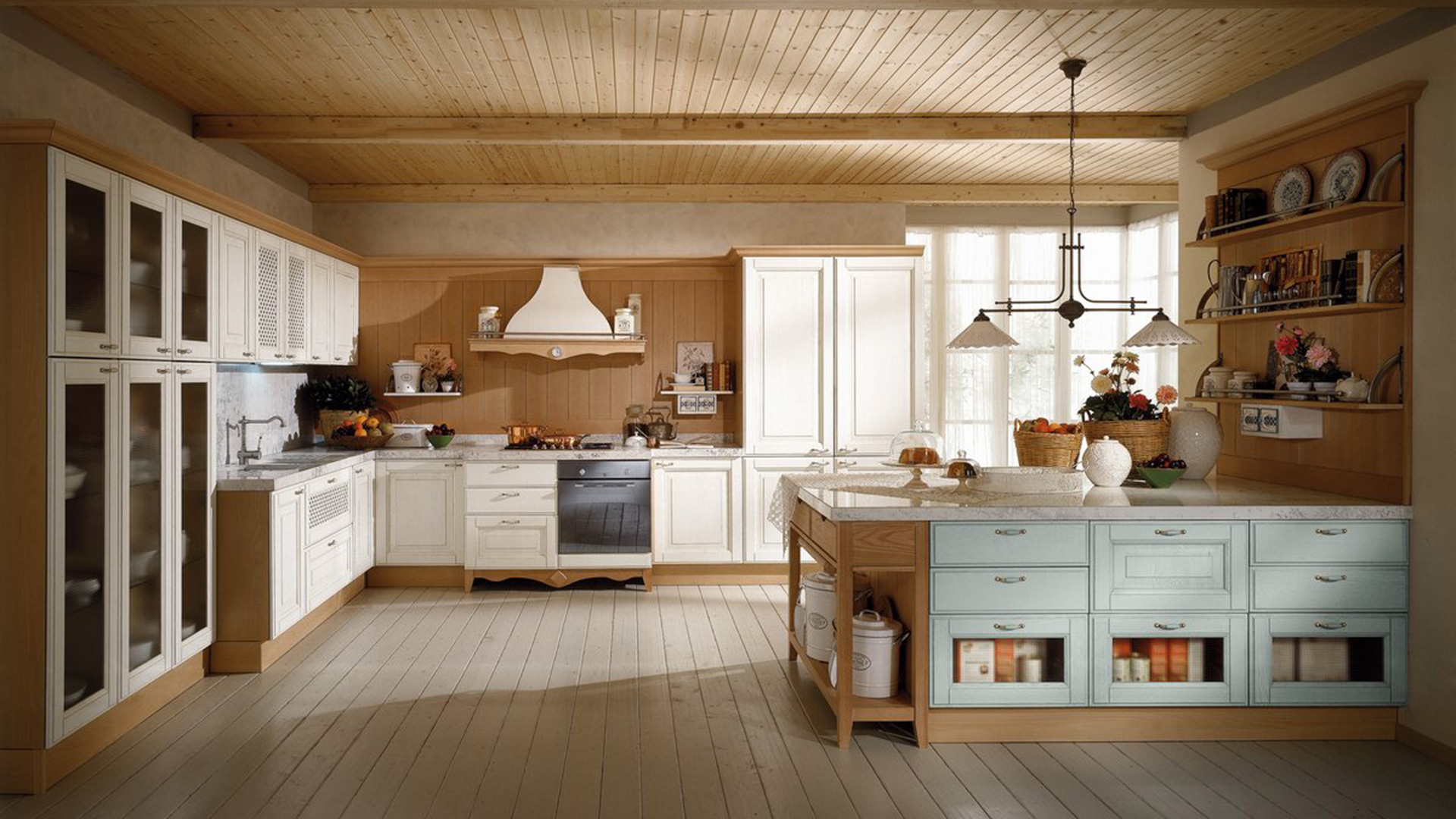 Cucina Classica Con Dispensa Cucine Con Dispensa Angolare Cool Awesome Cucine Moderne Con