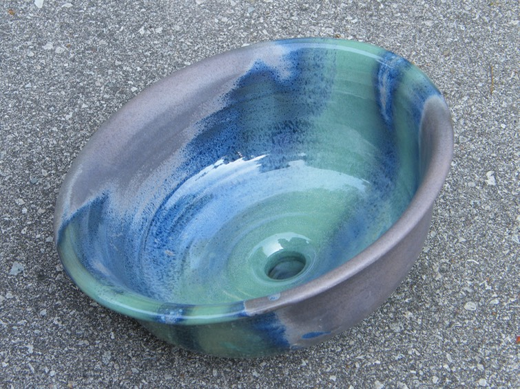 Ruth39s Sink From The Top Welcome To Studio Rose Pottery