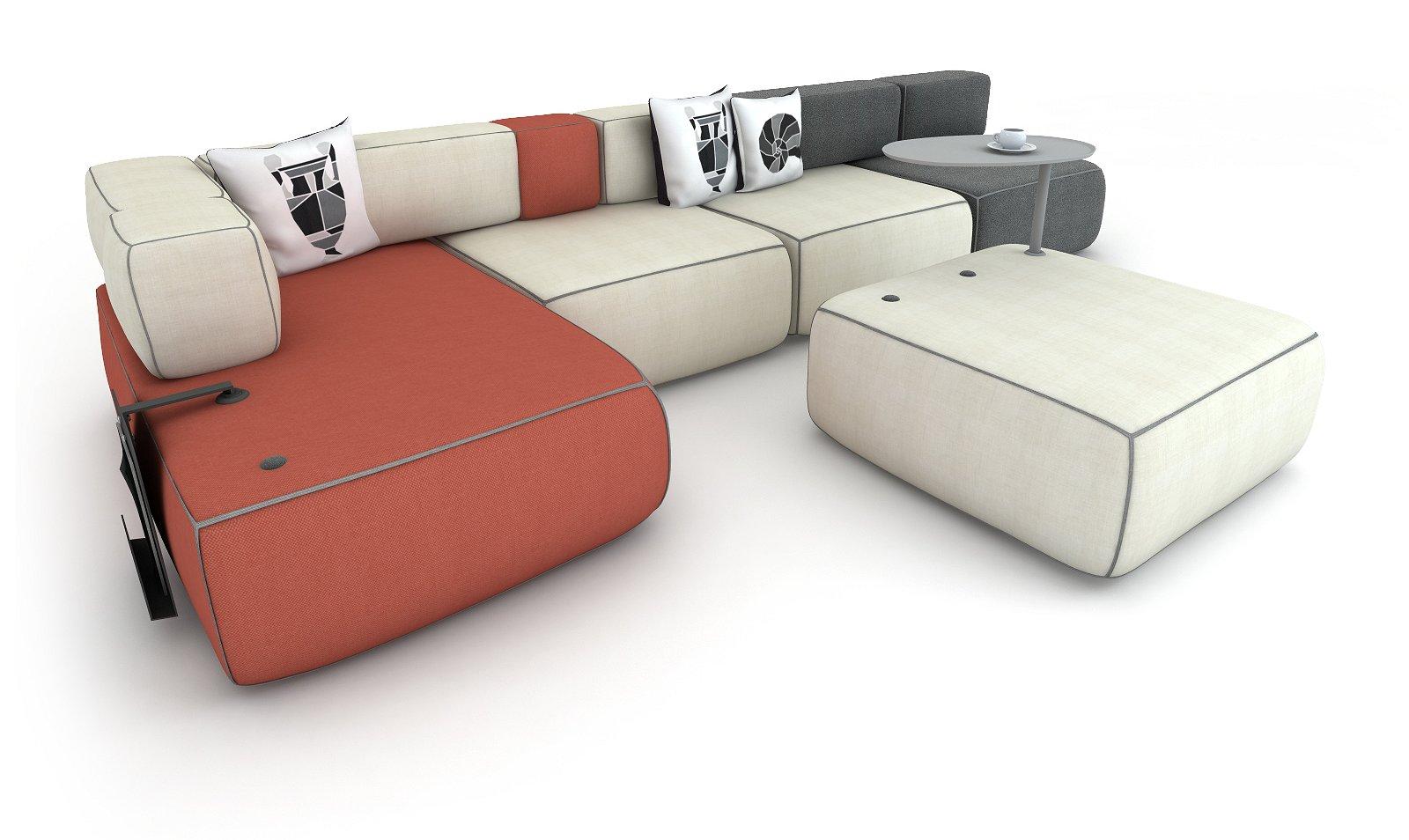 Awesome Divani Componibili Economici Ideas - Home Design - joygree.info