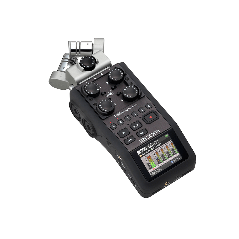Zoom H6 Recorder Zoom H6 Multi Channel Handheld Recorder