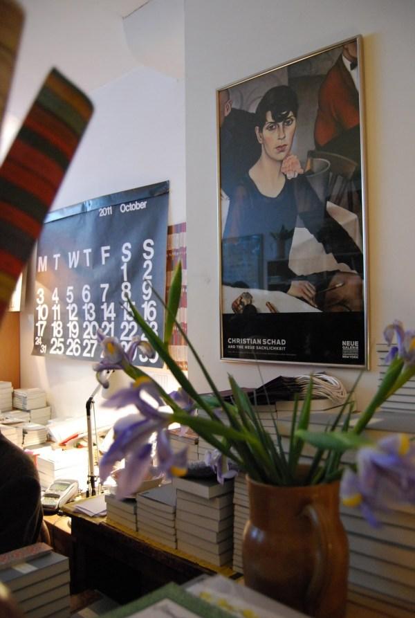 Cream Tea and Conversation at Persephone Books for Bloomsbury Festival 2011