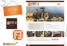 Site web et supports imprimés pour le Fat-e