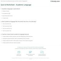 Academic Worksheets - Rcnschool