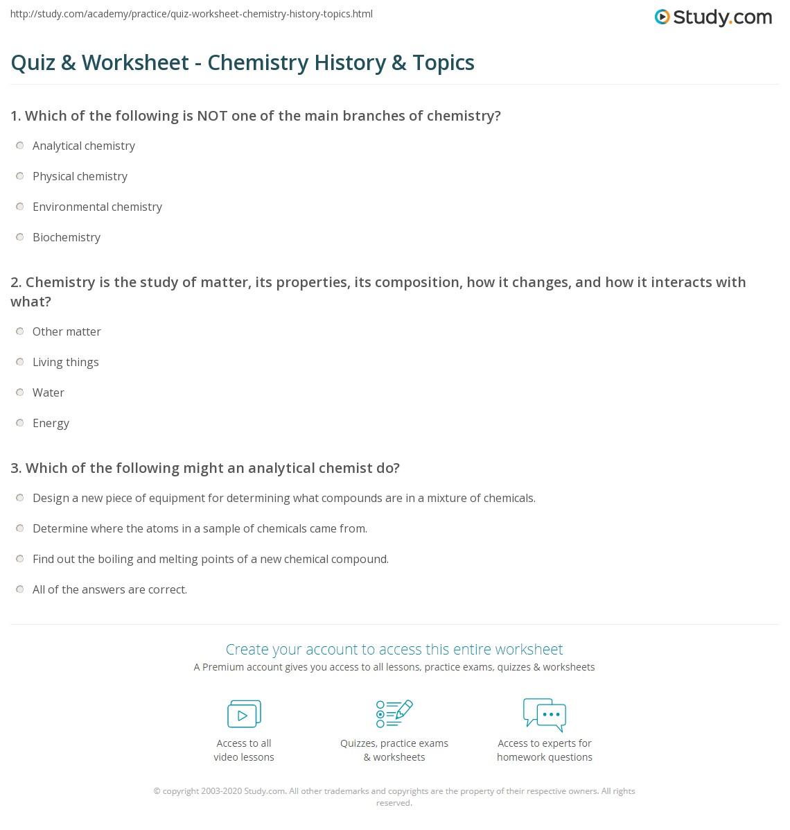 regular chemistry units e j
