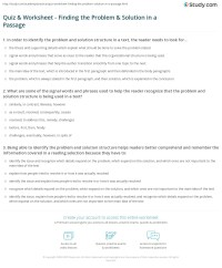 Problem And Solution Worksheet Free Worksheets Library ...