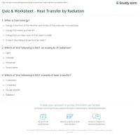 Worksheet Methods Of Heat Transfer Free Worksheets Library ...